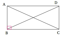 Prove that the Diagonals of a Rectangle are Congruent