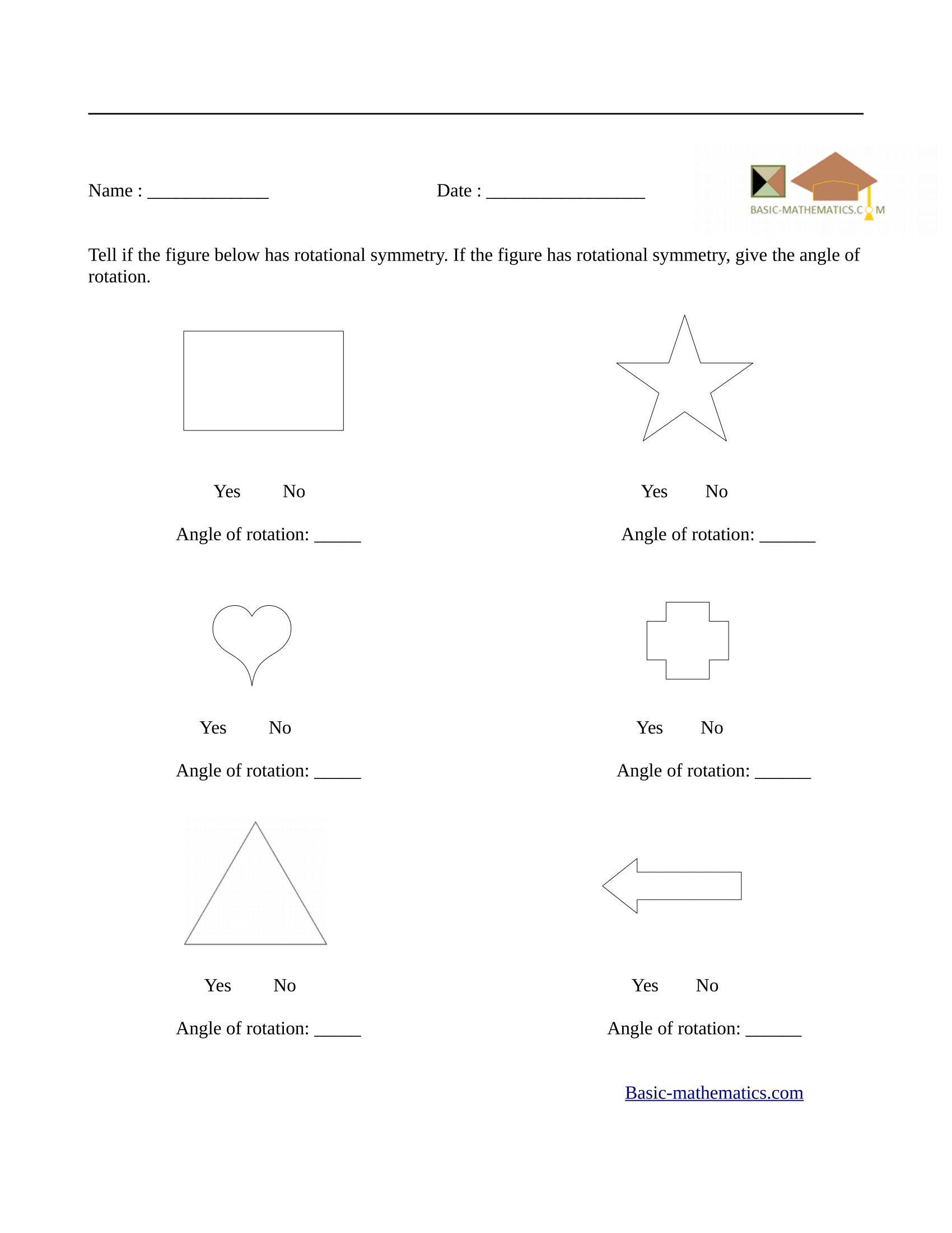 Worksheets Symmetry Worksheets symmetry worksheets rotational worksheet