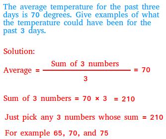 Average word problems