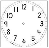Blank-clock