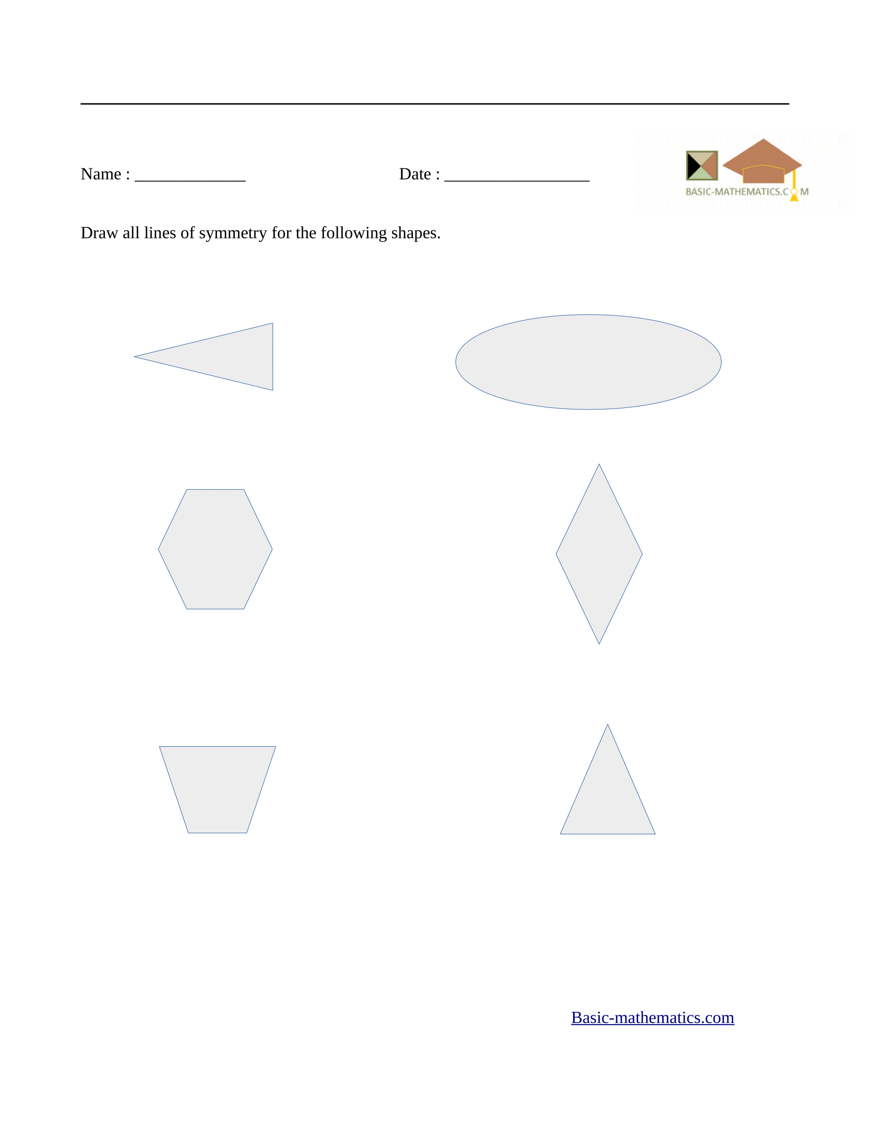 Worksheets Symmetry Worksheets symmetry worksheets