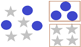Sorting shapes