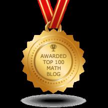 Top 100 math blogs