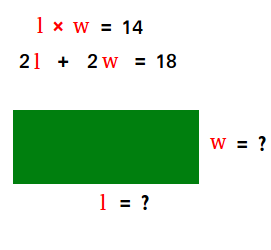 Rectangular garden word problem