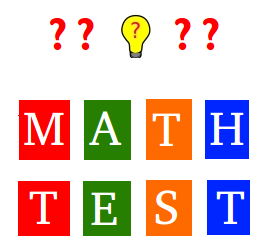 Whole numbers test